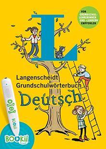 Langenscheidt Grundschulwörterbuch Deutsch - Buch mit BOOKii-Hörstift-Funktion: Mit Spielen für den BOOKii-Hörstift und Lernquiz (Langenscheidt Grundschulwörterbücher)