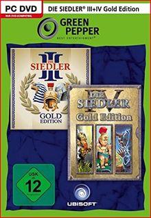 Die Siedler III Gold Edition und Die Siedler IV Gold Edition