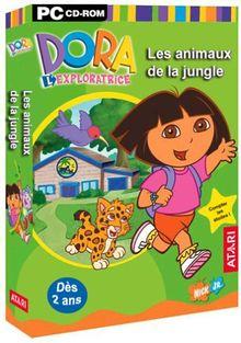Dora L'exploratrice : Les Animaux de la Jungle, à partir de 2 ans