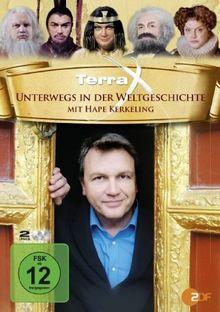 Terra X - Unterwegs in der Weltgeschichte (mit Hape Kerkeling) [2 DVDs]