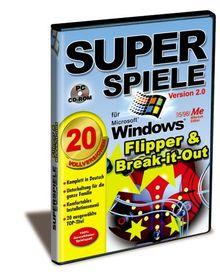 Superspiele 2 - Flipper & Break-it-out
