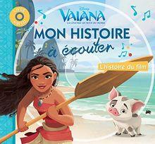 Vaiana, la légende du bout du monde : L'histoire du film (1CD audio)