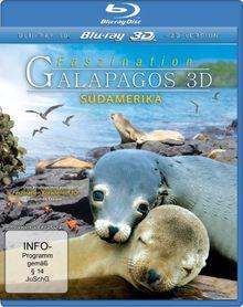 Faszination Galapagos 3D - Südamerika (inkl. 2D Version) [3D Blu-ray]