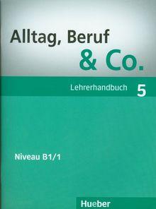 Alltag, Beruf & Co. 5: Deutsch als Fremdsprache / Lehrerhandbuch