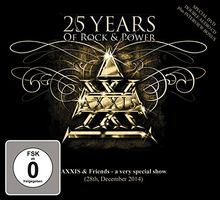 25 Years Of Rock And Power (1 DVD + 2CDs)