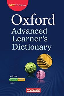 Oxford Advanced Learner's Dictionary - 9th Edition: B2-C2 - Wörterbuch (Festeinband) mit Online-Zugangscode