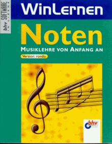WinLernen. Noten. Musiklehre von Anfang an. Version: rondo. Inkl. Handbuch, 26 S.