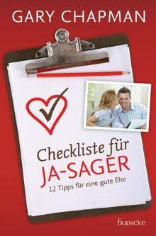 Checkliste für Ja-Sager: 12 Tipps für eine gute Ehe