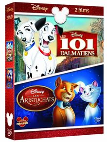 Coffret les 101 dalmatiens ; les aristochats