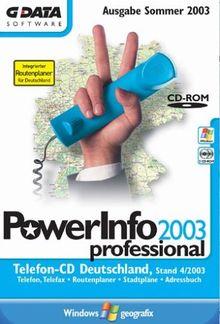 PowerInfo 2003 professional