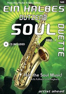 Ein halbes Dutzend Soul Duette. Ausgabe für Saxophon. (inkl. Audio-CD)