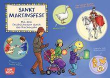 Sankt Martinsfest. Kamishibai Bildkartenset.: Entdecken - Erzählen - Begreifen: Das Kirchenjahr (Mit dem Erzähltheater durch das Kirchenjahr)