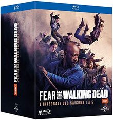 Fear The Walking Dead-L'intégrale des Saisons 1 à 5 [Blu-Ray]