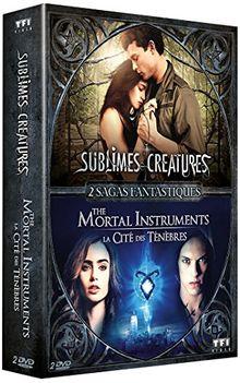 Coffret sagas fantastiques : sublimes créatures ; the mortal instruments [FR Import]