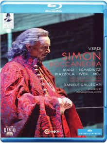 Verdi - Simon Boccanegra [Blu-ray]