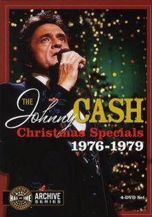 The Johnny Cash Christmas Specials 1976-1979 [4 DVDs]