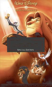 Der König der Löwen [VHS]
