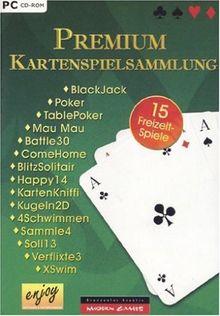 Premium Kartenspiele Sammlung