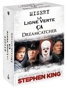 4 films adaptés de l'oeuvre de Stephen King : Dreamcatcher + Misery + La ligne verte + Ça [Édition Limitée]