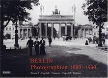 Berlin, Photographien 1900-1930