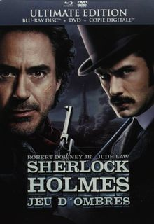 Sherlock holmes 2 : jeux d'ombres [Blu-ray] [FR Import]