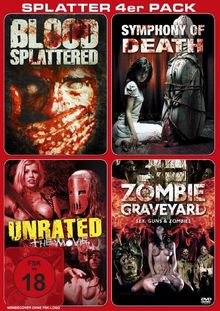 Splatter 4er Pack [2 DVDs]