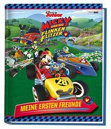 Disney Junior Micky und die flinken Flitzer: Meine ersten Freunde: Kindergartenfreundebuch