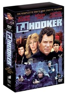 T.J. Hooker - Season 1 + 2 (6 DVDs) [erste Folge nur mit englischem Originalton mit dt. Untertiteln]