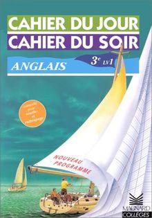 Anglais 3eme Lv1 Nouveau Programme Cahiers Jour Soir De