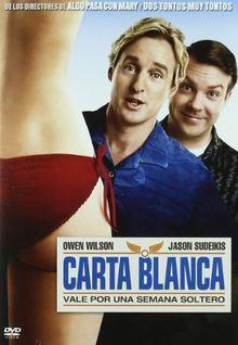 Carta Blanca (Import Dvd) (2011) Owen Wilson; Jason Sudeikis; Christina Appleg