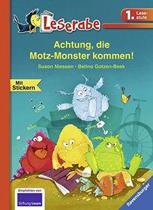 Achtung, die Motz-Monster kommen! (Leserabe - 1. Lesestufe)