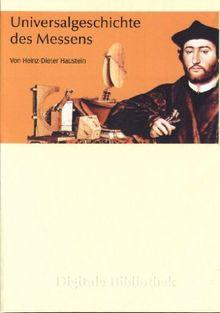 Digitale Bibliothek 164: Universalgeschichte des Messens (PC+MAC)