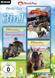 3 in 1 - Riding Star 3 + Lass uns Reiten 2 + Mein Gestüt: Ein Leben für die Pferde