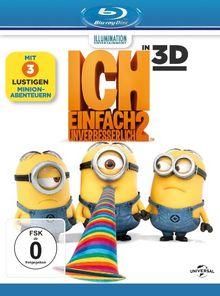 Ich - Einfach unverbesserlich 2 [ + Blu-Ray 2D] [Blu-ray 3D]