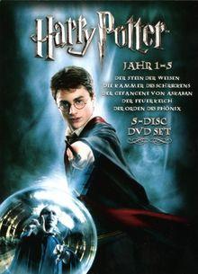 Harry Potter 1-5 (5 DVDs)