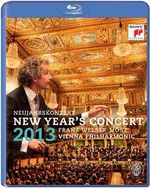 Neujahrskonzert 2013 - Franz Welser-Möst & Wiener Philharmoniker [Blu-ray]