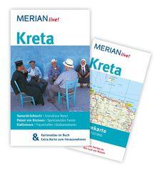 Kreta: Mit Kartenatlas im Buch und Extra-Karte zum Herausnehmen (MERIAN live)
