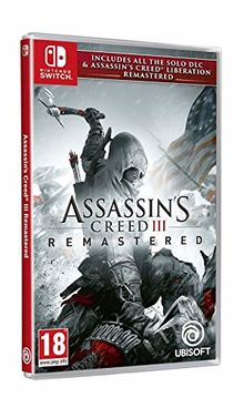 Assassin's Creed 3 + Jeux Switch, Remaster f�r Assassin's Creed Liberation