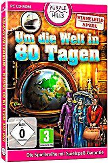 Um die Welt in 80 Tagen - Wimmelbild