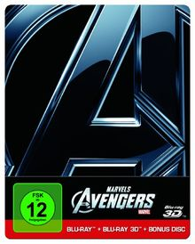 Marvel's The Avengers (Steelbook inkl. 2D Blu-ray & Bonus Disc) [3D Blu-ray]