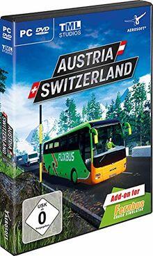 Fernbus Simulator - AddOn Szenerie Österreich/Schweiz - [PC]