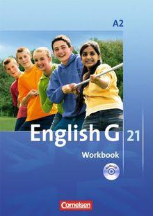English G 21 - Ausgabe A: Band 2: 6. Schuljahr - Workbook mit CD