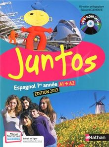Espagnol 1re année Juntos A1-A2 (1DVD)