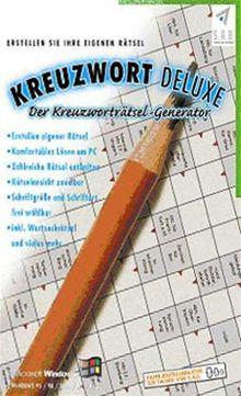 Kreuzwort deluxe - Der Kreuzworträtsel-Generator