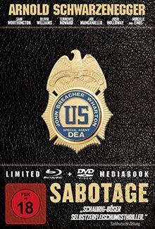 Sabotage - Mediabook [Blu-ray] [Limited Edition]