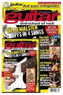 Guitar - DVD-School of Rock (+ Begleitheft): Die genialsten Riffs in 4 Songs