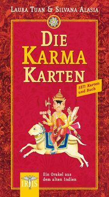 Die Karma-Karten. Buch und 33 farbige Karten: Ein Orakel aus dem alten Indien