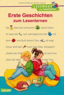 Lesemaus zum Lesenlernen Sammelbände: Erste Geschichten zum Lesenlernen