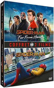 Coffret spider-man 2 films : homecoming ; far from home [FR Import]