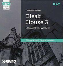 Bleak House 3: Lesung mit Gert Westphal (2 mp3-CDs)
